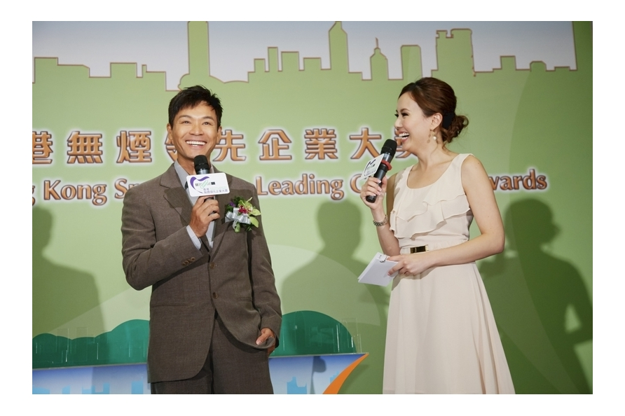 2011 Smoking Cessation Ambassador Mr KWOK Chun-on shared his cessation experience at the ceremony